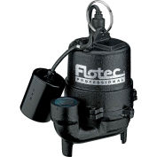 Flotec Professional Series 1/3 HP Submersible Cast Iron Effluent Pump