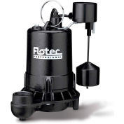 Flotec Professional Series 1/2 HP Submersible Cast Iron Effluent Pump, Vertical Switch