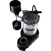 Flotec Submersible Cast Iron and Zinc Sump Pump 1/3 HP