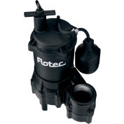 Flotec Thermoplastic Sewage Pump 4/10 HP