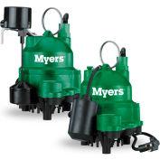 Myers MDC Series 1/3 HP Cast Iron Sump Pump