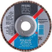 Type 27 POLIFAN® SG Flap Discs, PFERD 62279, Box of 10
