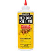 Harris Bed Bug Powder Diatomaceous Earth Hde-8 8 Oz. - Pkg Qty 12