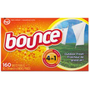 Bounce® Fabric Softener Sheets, 160 Sheets/Box 6/Case - PAG80168CT