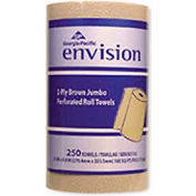 GP Envision® GEP28290, Perforated Paper Towels, Brown, 12 Rolls/Carton