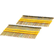 """Freeman Framing Nails FR.113-238B, 2-3/8"""" x .113"""", Plastic Collated, Coated Smooth Shank, 2000/Bx"""