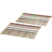 """Freeman Framing Nails FR.120-3GRS, 3"""" x .120"""", Plastic Collated, Galvanized Ring Shank, 2000/Bx"""