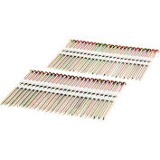 "Freeman Framing Nails FR.131-314GRS, 3-1/4"" x .131"", Plastic Collated, Galv. Ring Shank, 2000/Bx"