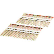 """Freeman Framing Nails FR.131-3GRS, 3"""" x .131"""", Plastic Collated, Galvanized Ring Shank, 2000/Bx"""