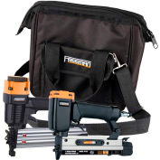 Freeman 2-Piece Finishing & Trim Kit PPPBRCK, Includes Nails & Canvas Storage Bag