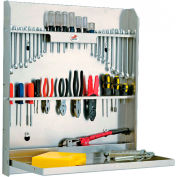 "Tow-Rax SP30ATC, Tool Cabinet With Tray, Aluminum 30""H x 26""W x 4""D"