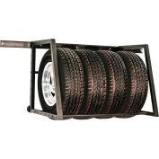 "Tow-Rax SPTSR Tire Storage Rack 28""H x 30""D - Adjustable to 62 1/2"" Wide"