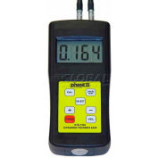 "Phase 2 UTG-1500 0.04""-8"" / 0-200MM Economy Ultrasonic Thickness Gage"