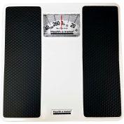 "Health O Meter 100LB Floor Scale 270 x 1lb 10-1/4"" x 9-7/8"" Platform - 3 Pack"