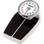 "Health O Meter 160KG Floor Scale 180 x 1kg, 11 x 12-1/2"" Platform W/ Raised 8"" Dial"