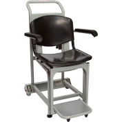 Health O Meter 2595KL Digital Chair Scale 600 x 0.2lb/270 x 0.1kg W/ Arm & Foot Rests, Portable