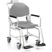 Health O Meter 594KL Digital Chair Scale 600 x 0.2lb/270 x 0.1kg W/ Flip Arm, Foot Rests, Wheels