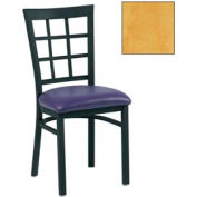 "Grid-Back Chair 17-1/2""W X 16""D X 35""H - Natural - Pkg Qty 2"