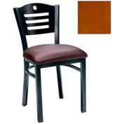 "Cherry 3 Slat-Back Chair 17-1/2""W X 17""D X 32""H - Pkg Qty 2"