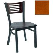"""Cherry 5 Slat-Back Stack Chair 17-1/2""""W X 17""""D X 32""""H - Pkg Qty 2"""