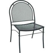 Premier Hospitality Furniture Brentwood Outdoor Metal Chair Without Arms - Pkg Qty 4