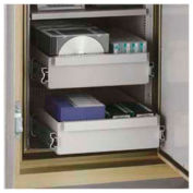 FireKing® Composite Drawer CM19-CD - For DM2520-3 and DM3420-3 and DM4420-3, Platinum Finish