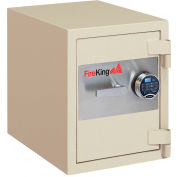 FireKing® Fire & Burglary Safe FB1612-1 1-Hour Fire Rating 17-13/16 x 21-5/8 x 21-5/16 Graphite