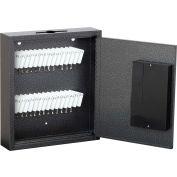 """FireKing® KE1002-30 Hercules Key Cabinet, Electronic Lock, 9-7/8""""W x 2-1/2""""D x 12""""H, 30 Keys"""