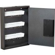"""FireKing® KE1302-60 Hercules Key Cabinet, Electronic Lock, 13""""W x 2-1/2""""D x 17""""H, 60 Keys"""