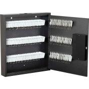 """FireKing® KE1502-120 Hercules Key Cabinet, Electronic Lock, 14-3/4""""W x 2-1/2""""D x 17""""H, 120 Keys"""