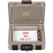 """FireKing® SS103 SureSeal Fire & Waterproof Chest, 15-7/8""""W x 12-3/8""""D x 6-1/2""""H, 0.27 Cu. Ft."""