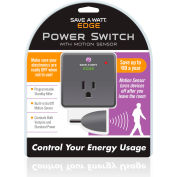 "P3 International P4170 Save A Watt® Edge, 2-1/2""L x 2-1/2""W x 2-2/7""H, 10A, Gray"