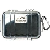 "Pelican 1020 Watertight Micro Case With Liner 6-13/16"" x 4-3/4"" x 2-1/8"", Black"