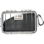 "Pelican 1040 Watertight Micro Case With Liner 7-1/2"" x 5-1/16"" x 2-1/8"", Black"