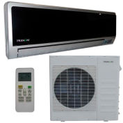 Pridiom® 21,000 BTU Dual Zone Ductless Mini-Split System w/18K Outdoor Unit, High Wall Mount