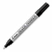 Pilot® Creative Permanent Marker, Medium, 1.0mm, Silver Ink