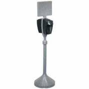 PolyJohn® Portable Hand Sanitizing Stand With Two Hands Free Sanitizer Dispensers - MSN01-1400