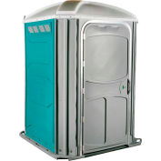 PolyJohn® Comfort Inn™ Wheel Chair Accessible Portable Restroom Aqua - PH03-1000