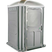 PolyJohn® Comfort Inn™ Wheel Chair Accessible Portable Restroom Pewter - PH03-1005