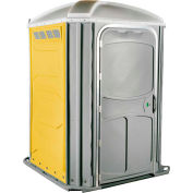 PolyJohn® Comfort Inn™ Wheel Chair Accessible Portable Restroom Yellow - PH03-1009