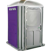 PolyJohn® Comfort Inn™ Wheel Chair Accessible Portable Restroom Purple - PH03-1010