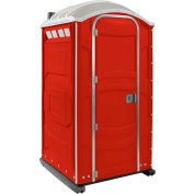 PolyJohn® PJN3™ Portable Restroom Red - PJN3-1013