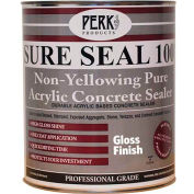Sure Seal 100 Acrylic Sealer, Clear Gloss Finish Gallon Can - CP-1544-1 - Pkg Qty 4