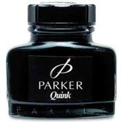 Parker® Quink Permanent Pen Ink Bottle, 2 oz Bottle, Black Ink