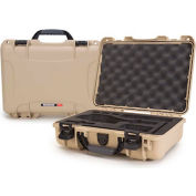 "Nanuk 910 Series DJI Osmo Case 910-OSM0 with Foam Insert 14-5/16""L x 11-1/8""W x 4-11/16""H Tan"