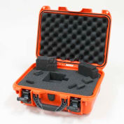 "Nanuk 915 Case w/Foam, 15-3/8""L x 12-1/8""W x 6-13/16""H, Orange"