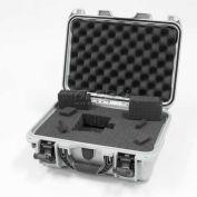 """Nanuk 915 Case w/Foam, 15-3/8""""L x 12-1/8""""W x 6-13/16""""H, Silver"""