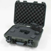 "Nanuk 920 Case w/Foam, 16-11/16""L x 13-3/8""W x 6-13/16""H, Olive"