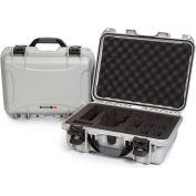 "Nanuk 920 Waterproof DJI MAVIC Hard Case 920-MAV5 w/ Foam 16-11/16""L x 13-3/8""W x 6-13/16""H Silver"