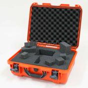 """Nanuk 930 Case w/Foam, 19-13/16""""L x 16""""W x7-5/8""""H, Orange"""